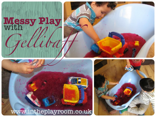 Messy Play with GelliBaff