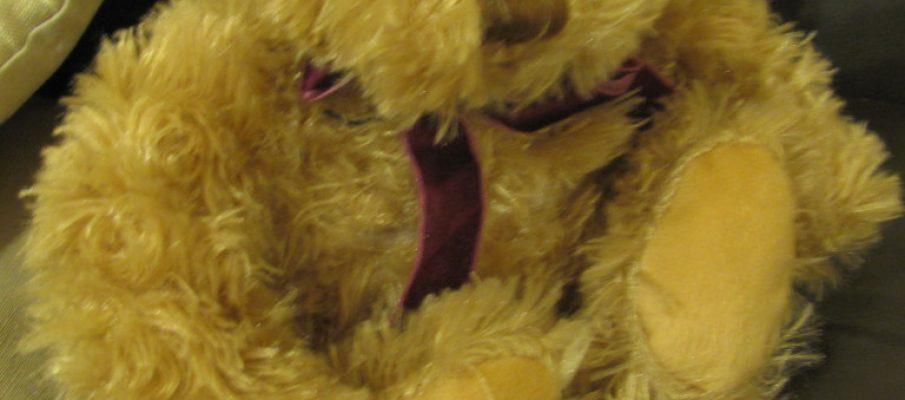 teddy aroma sleep aid lavender bear