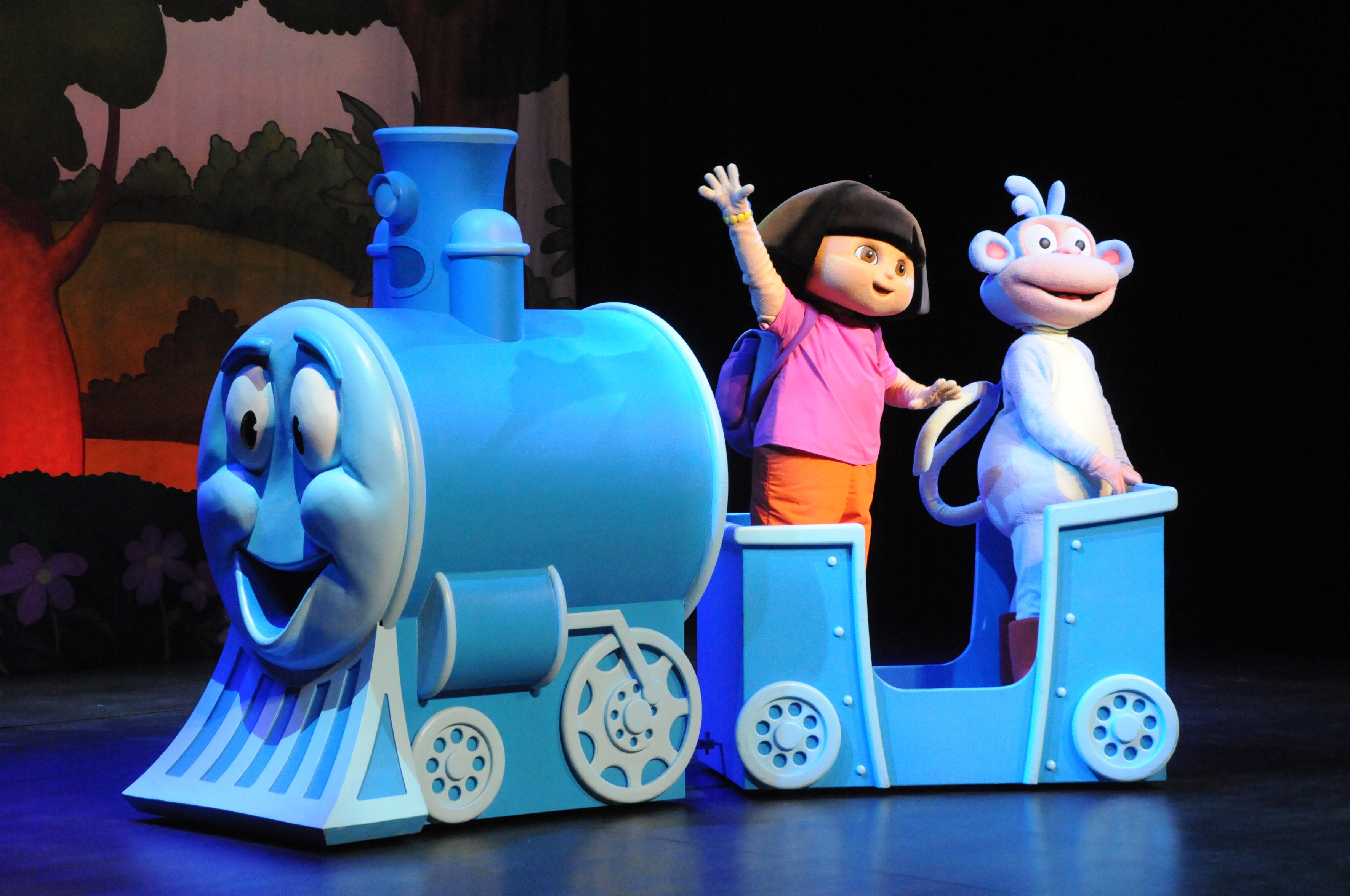 Dora The Explorer Live! Search For The City Of Lost Toys 2