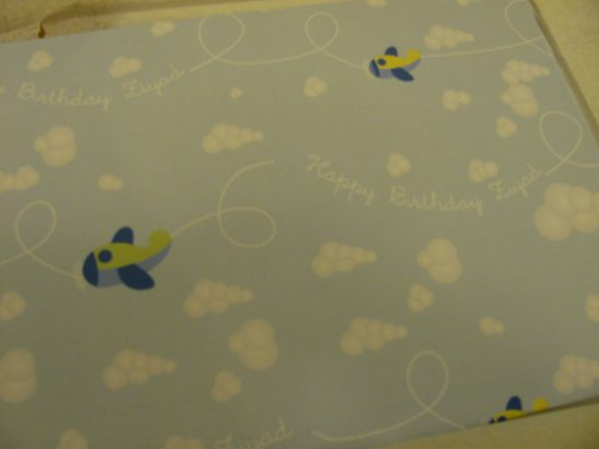 Happy Birthday Mr Z – With PaperThemes Personalised Wrapping Paper