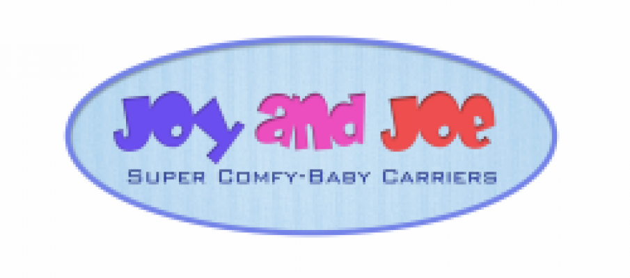 joy and joe super comfy baby carriers logo