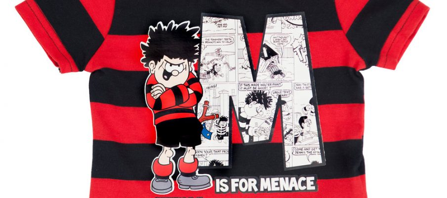 Dennis the menace beano t-shirt