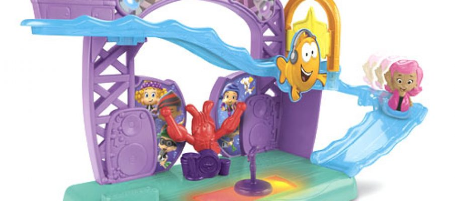 fisher price bubble guppies rock and roll stage