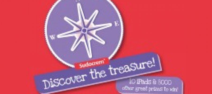 sudocrem treasure hunt