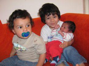 Having three Boys