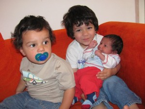 Having three Boys
