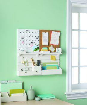 Martha Stewart Home Office Wall Organiser