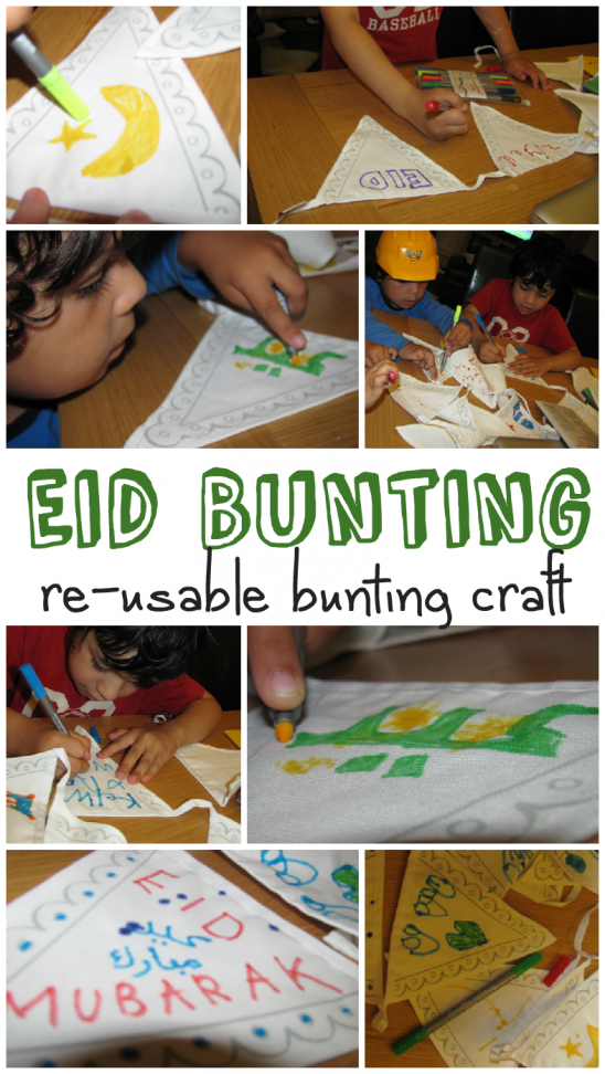 Making Eid Decorations