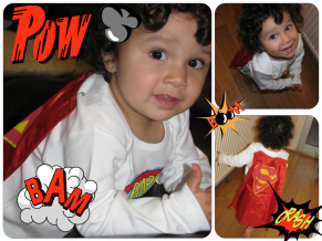 A Baby Super Hero?
