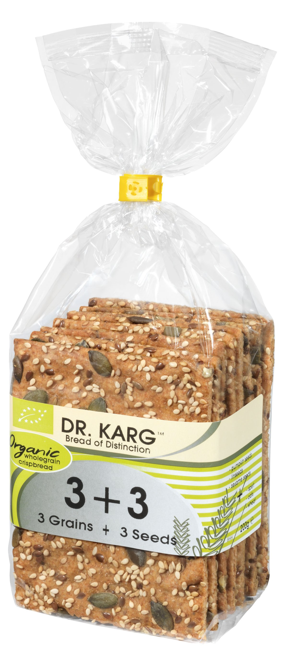 DR KARG 200g Organic 3+3 SOLO
