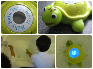 Turtlemeter – Baby Bath Toy and Thermometer