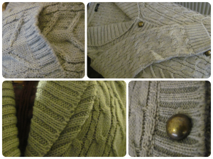 Shawl Collar Cardigan from Damart