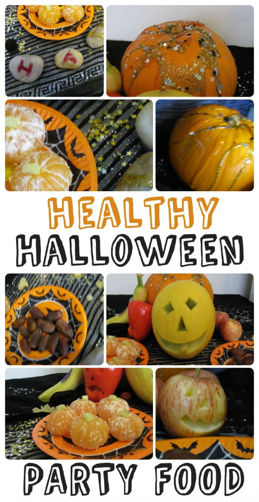 Spooky Fruit! Healthy Halloween Party Food Ideas