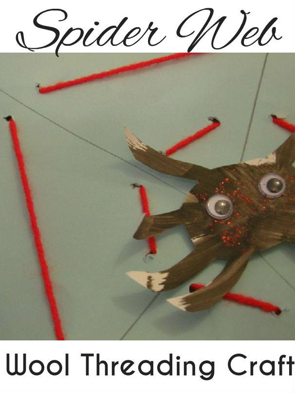 Spider Web Threading Craft