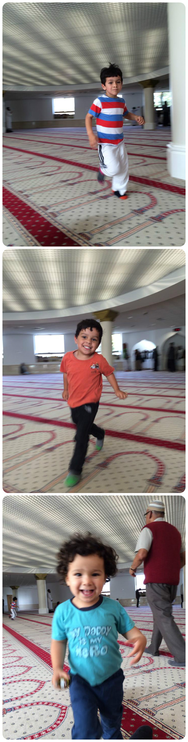 Sunday Photo – Kids in the Mosque