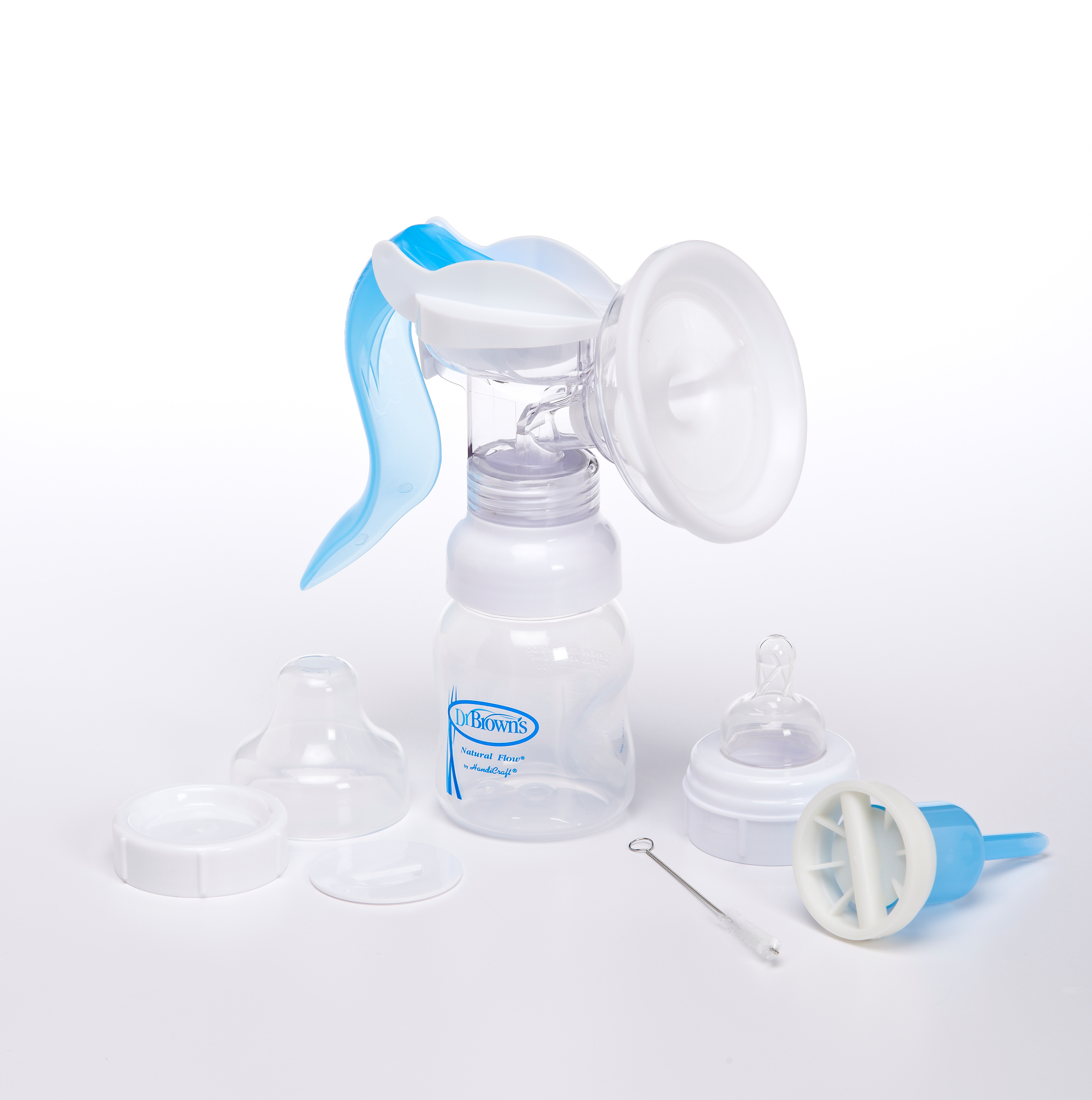 Breastpump with accessories