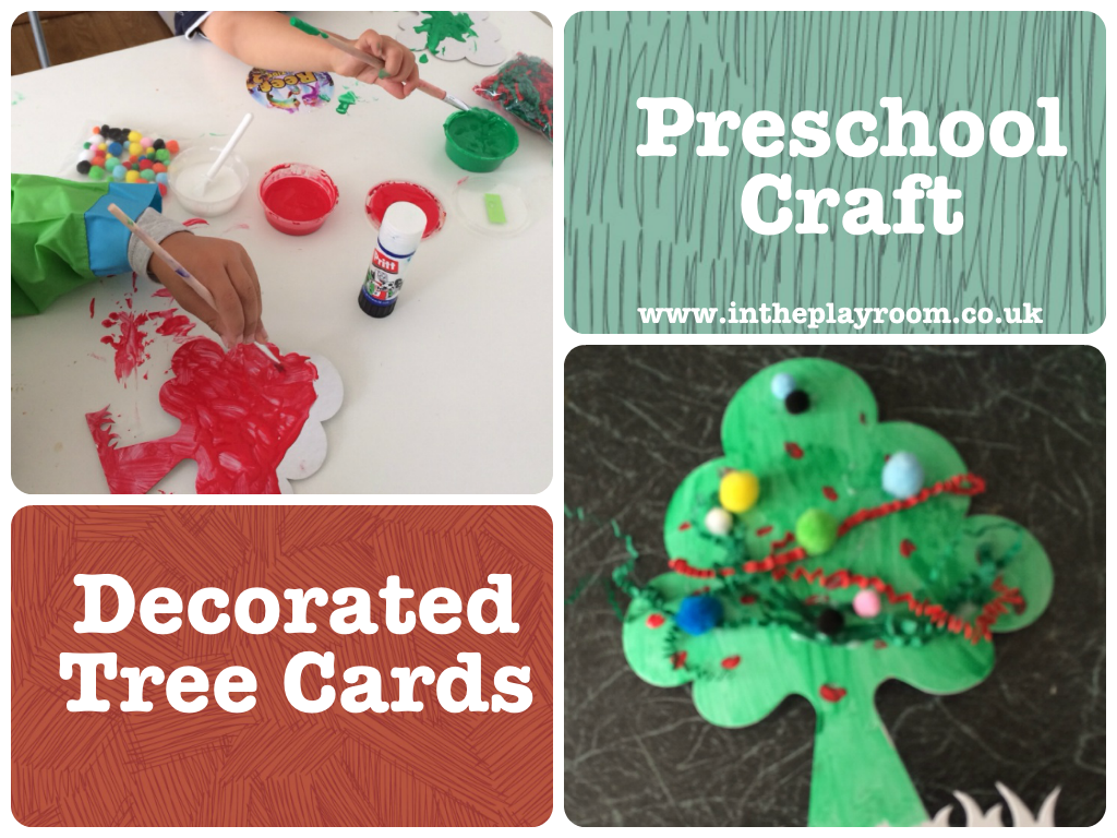 Decorated Tree Cards
