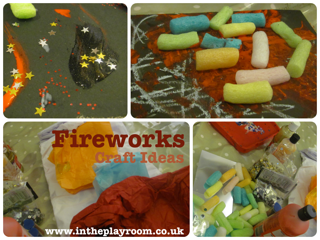 Fireworks Craft Ideas