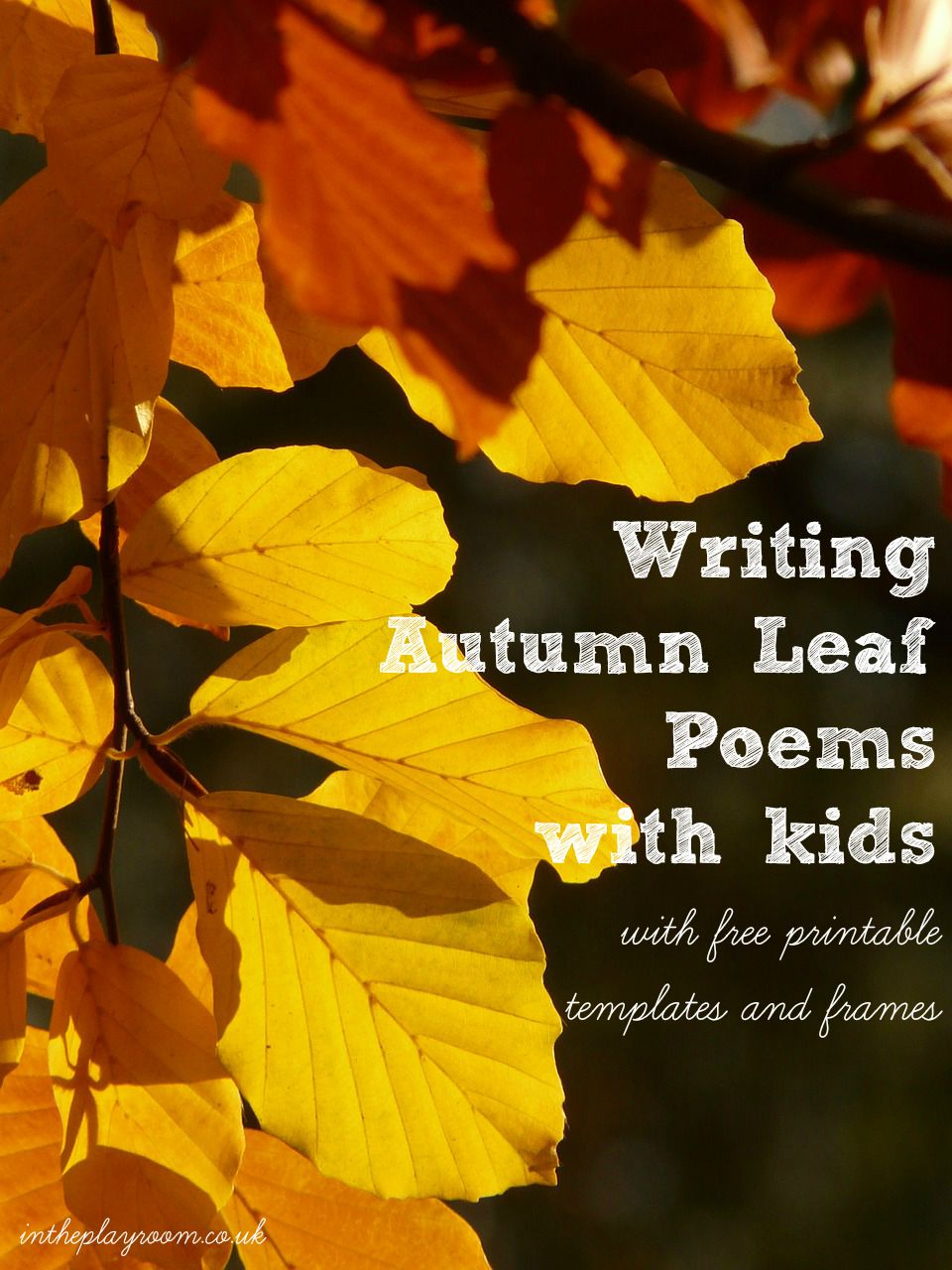 Leaf-Decorated Autumn Poem