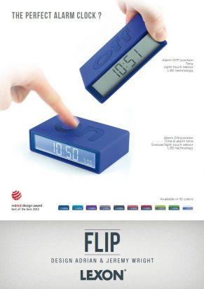 Lexon Flip Clock