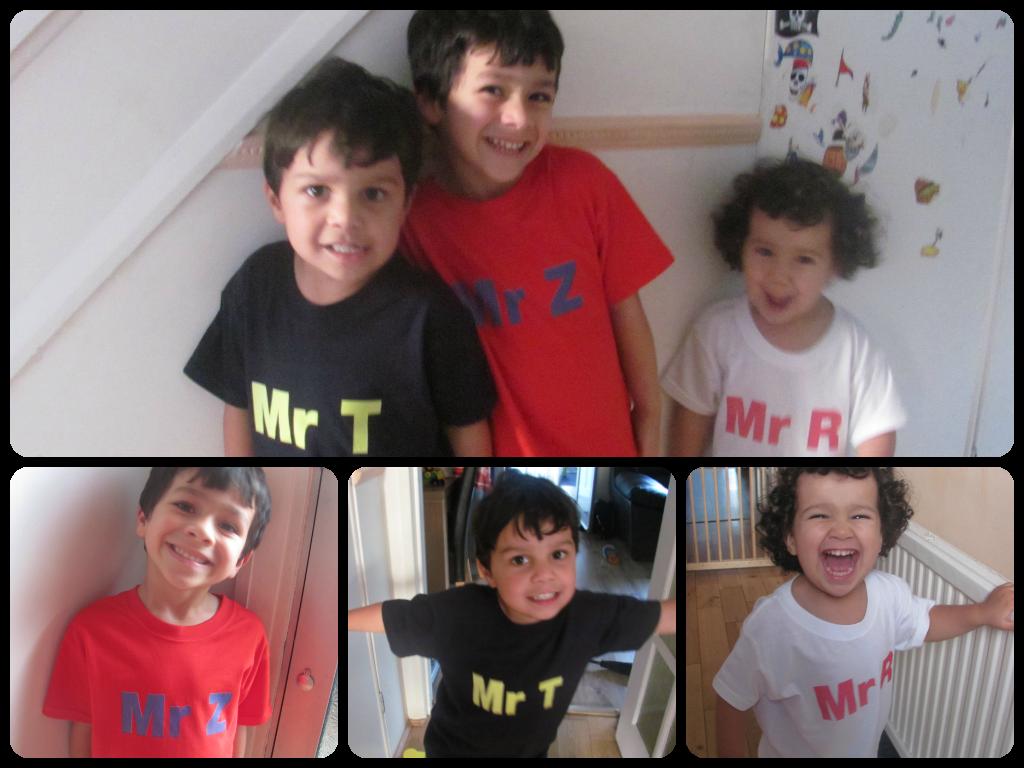 Sunday Photo – Mr Z, Mr T, Mr R!