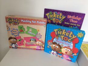 New Tickety Toc Ranges