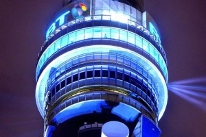 Want to see your tweet on the BT Tower?