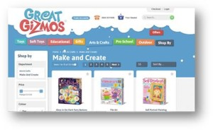 New Kids Gift Website from Great Gizmos