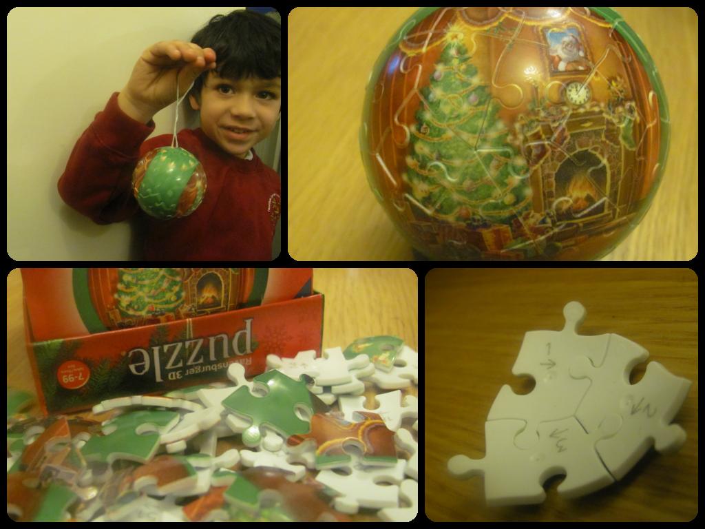 Ravensburger 3D Christmas Puzzle Balls
