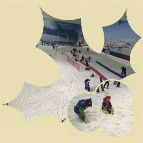 Sledging at The Snow Centre