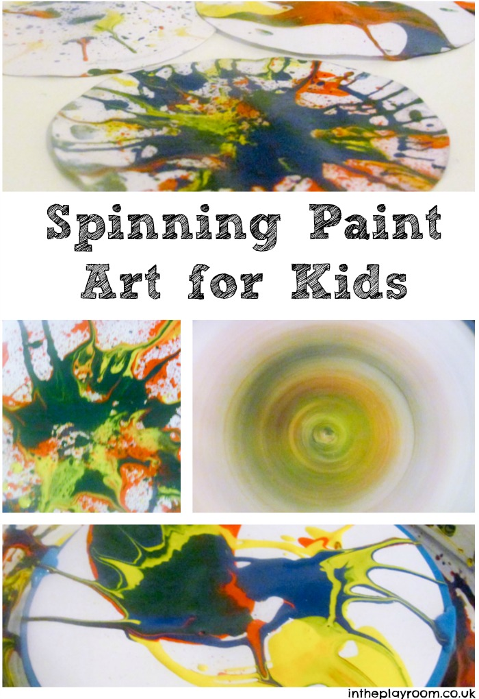 Spinning Paint Pictures