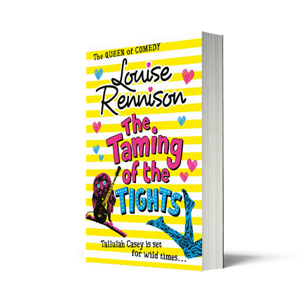 Giveaway: The Taming of the Tights by Louise Rennison