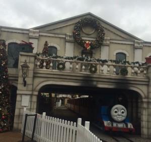 Christmas time at Thomasland