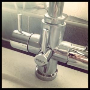healthy food brita water filter tap