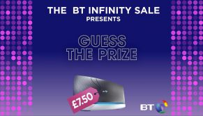 #GuessThePrize and win on Twitter with BT!
