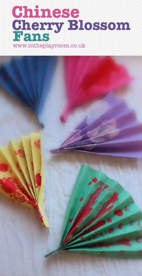 Chinese Crafts for Kids – Chinese fans and more.