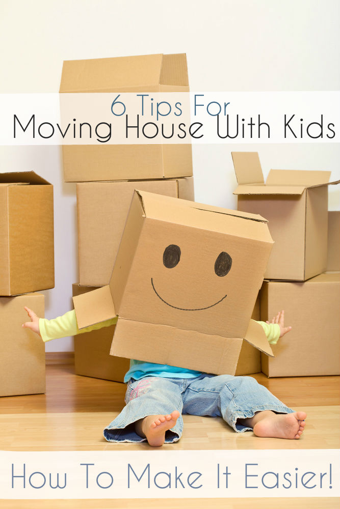 6 Tips on Moving House With Young Children