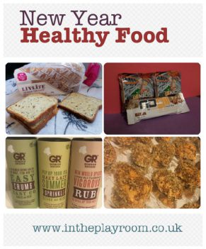 New Year Healthy Food Products