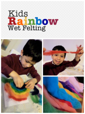 Wet Felting with Kids