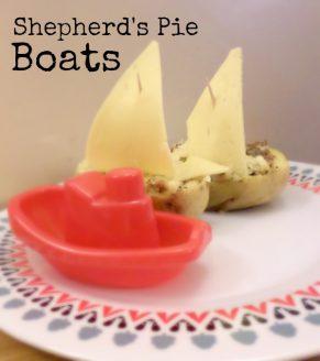 Shepherd's Pie Boats