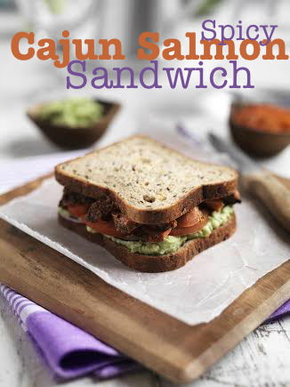 Spicy Cajun Salmon Sandwich Recipe