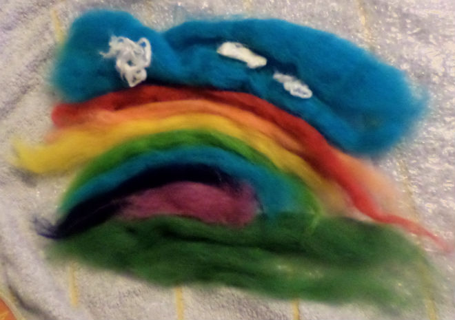 Wet Felting With Kids In The Playroom