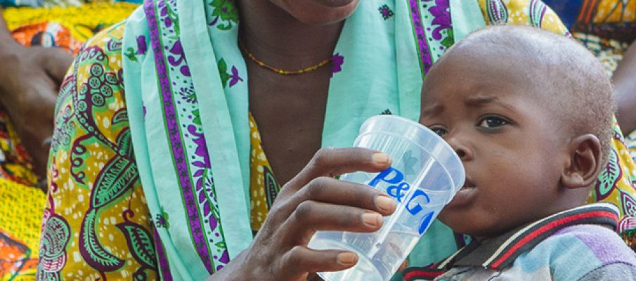 The P&G and Asda Clean Water Campaign aims to provide 75 million days of clean drinking water in 2014