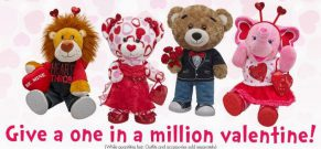 Build-a-Bear for Valentines Day