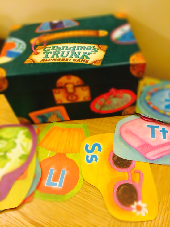 Grandma's Trunk – Collection of Literacy Games