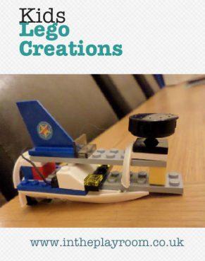The Boys' Lego Creations
