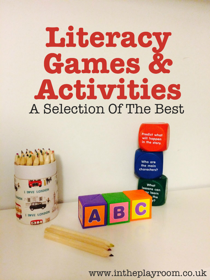 My Pick Of The Best Literacy Activities & Games