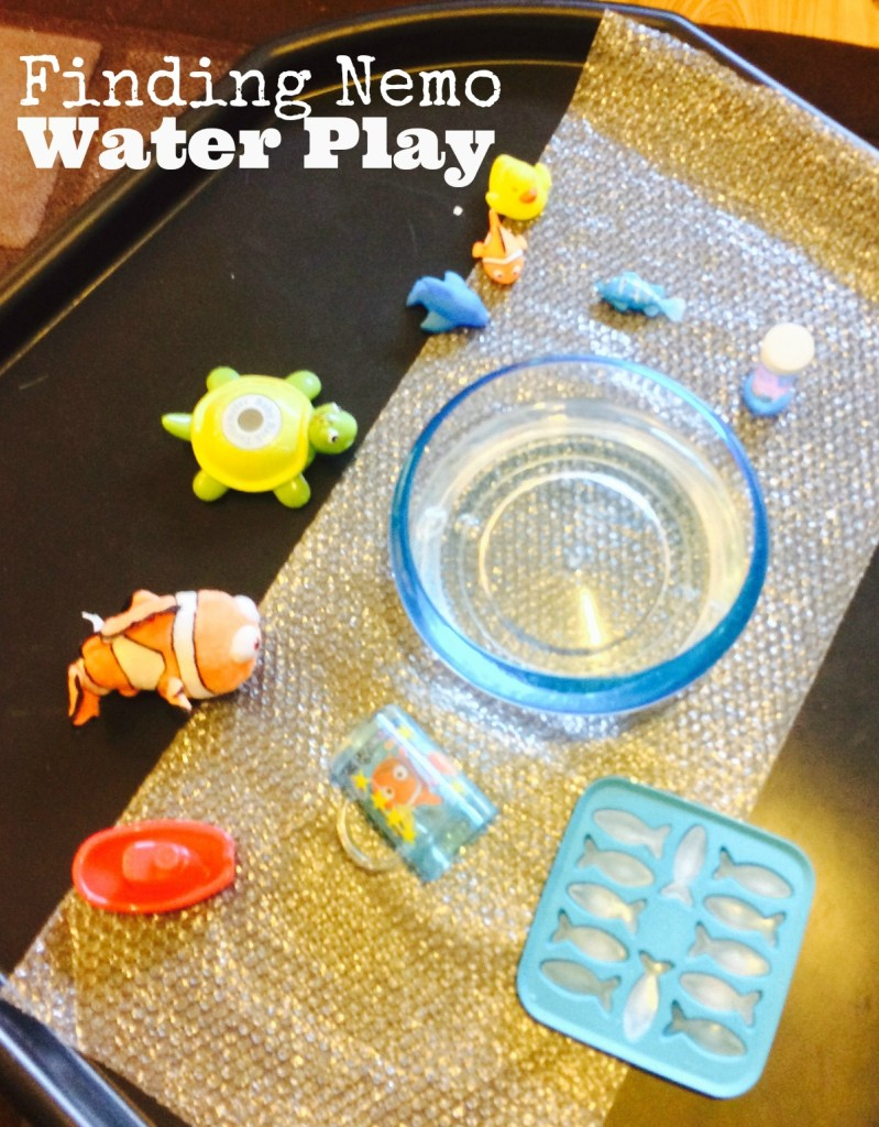 Finding Nemo Water Play Fun