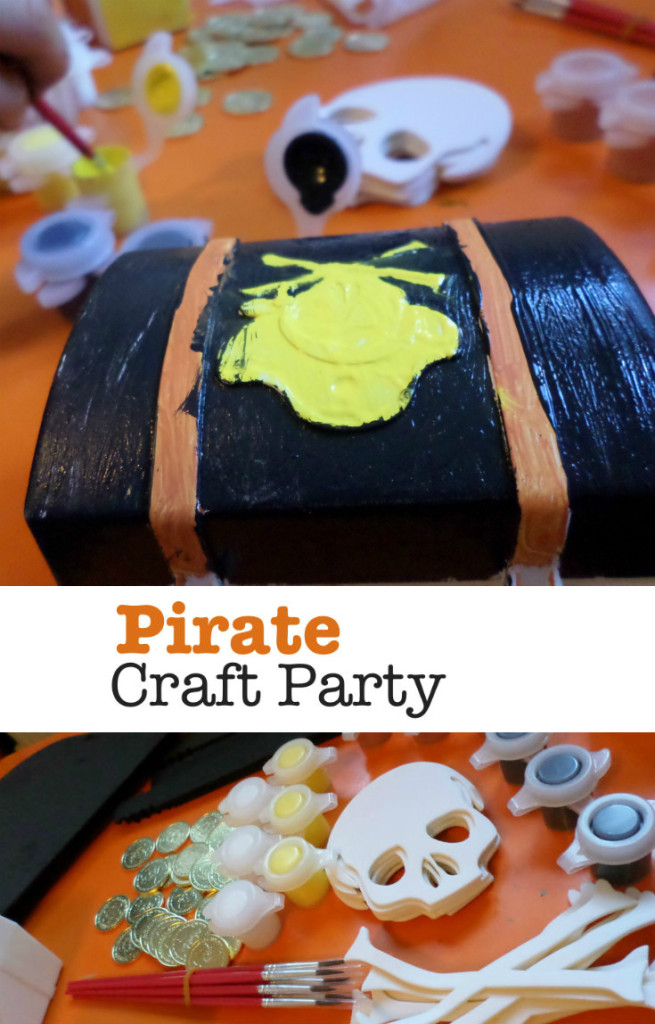 Interplay Pirate Craft Party