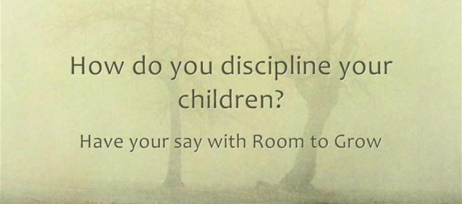How-do-you-discipline